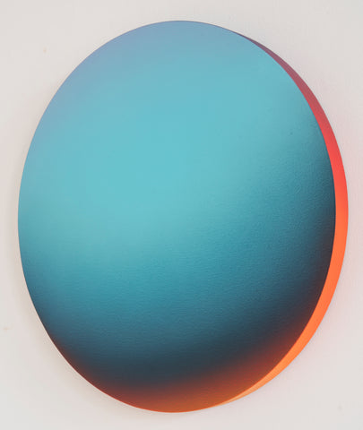 Jan Kálab: Turkis Gradient, 2018