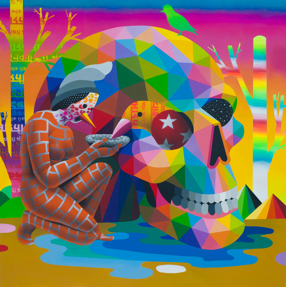 "Okuda San Miguel: ""Breeder of Thoughts"""