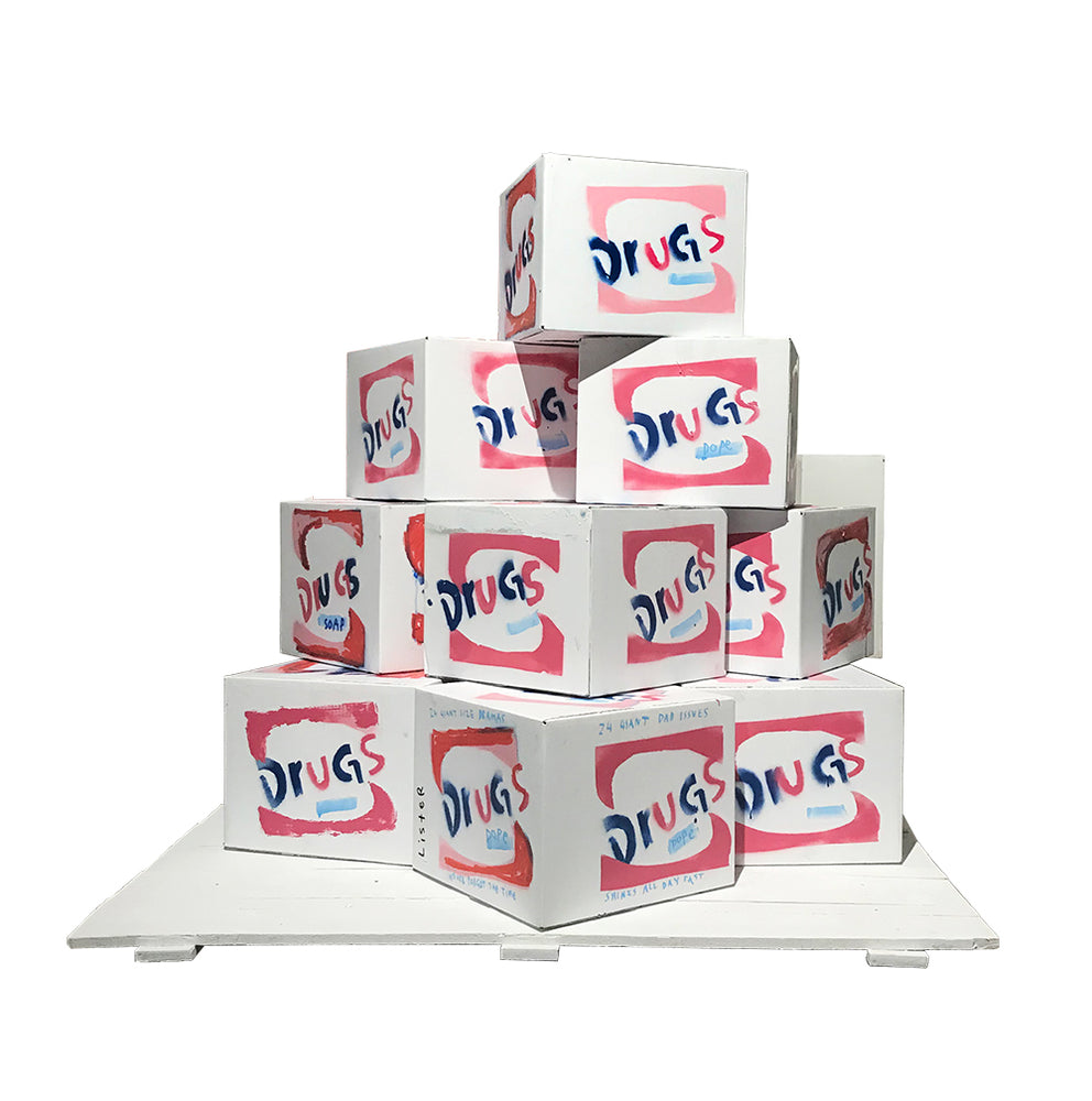 Anthony Lister: BRILLO BOX (SOAP PADS) 1964 / Homage to Andy Warhol,
