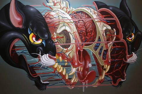 Nychos: Black Panther Head Anatomy