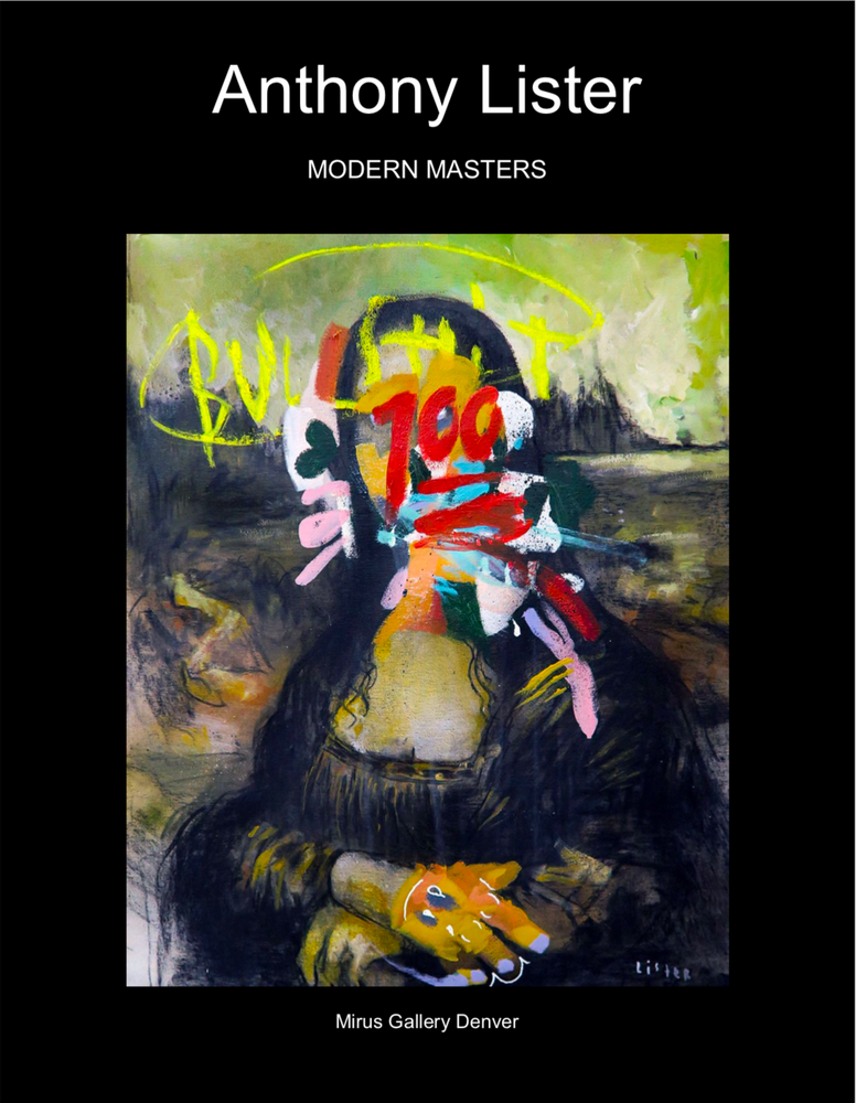 "Anthony Lister ""Modern Masters"" exhibition catalog"