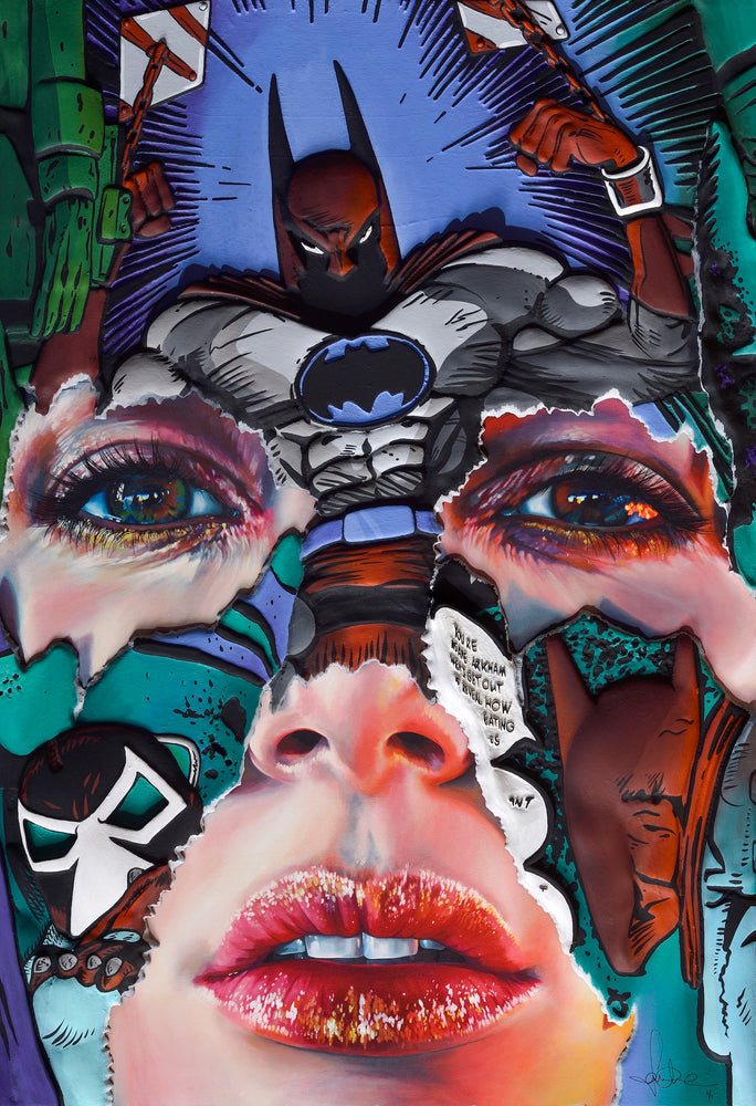 Sandra Chevrier: The Cage between Freedom and Captivity (Teal, Hand Embellished)