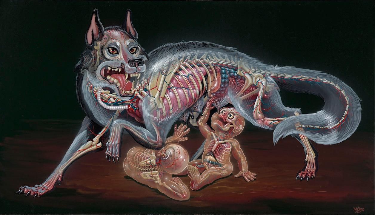 Nychos: Wolfmother (Painting)