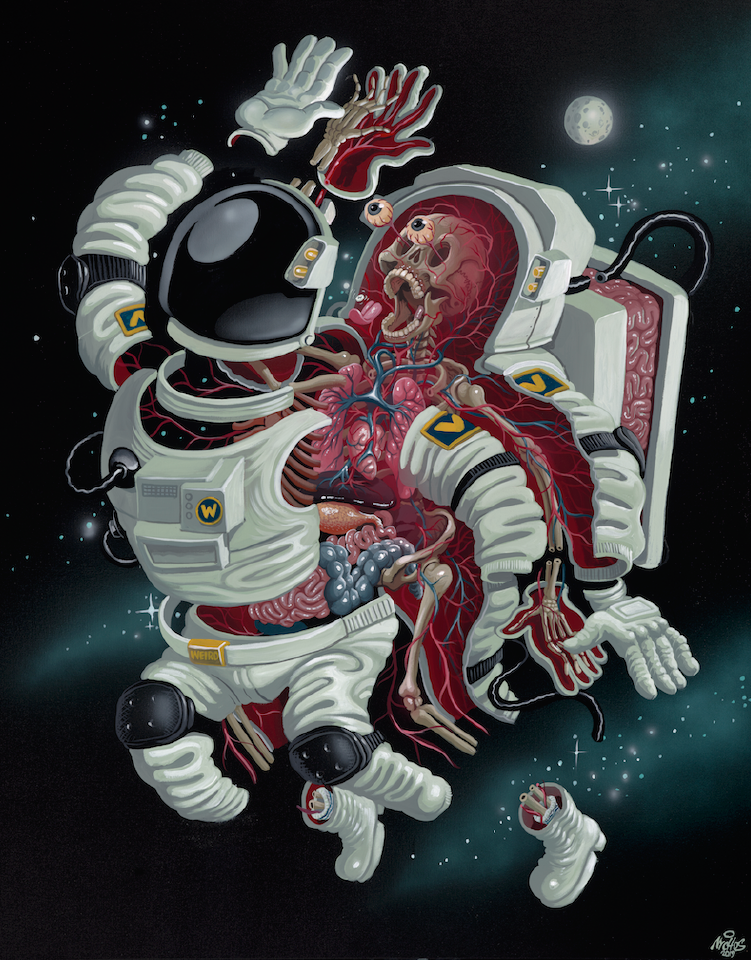Nychos: Dissection of an Astronaut