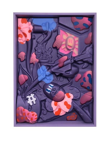 Sickboy: Flowers in Spring (Purple Velvet)