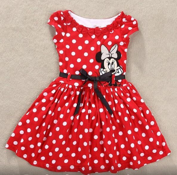 Girls Minnie Mouse Dress
