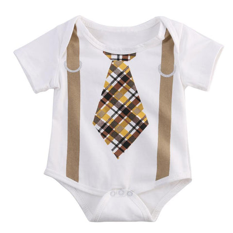 Newborn Boy Gentleman Bodysuit