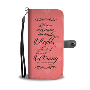 Best Quote Of President Thomas S Monson Lds Wallet Phone Case