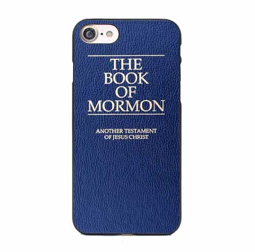 The Book of Mormon iPhone Case Blue