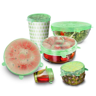 6pcs/set Stretch Lids