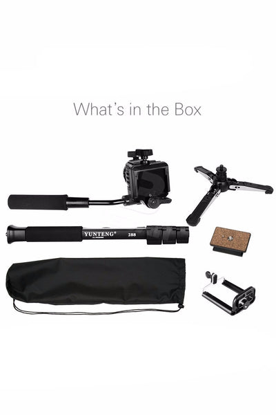 All in 1 Professional Portable Monopod
