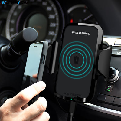 Fast Wireless Car Charger for iPhone XS, XS Max and XR