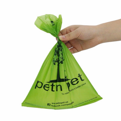 Eco-friendly Dog Waste Bags with Poop Bag Dispenser