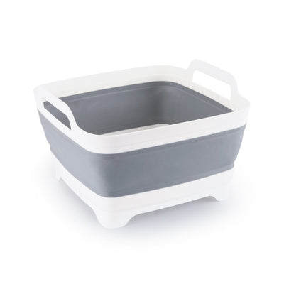 Collapsible Dish Tub w/ Plug and Strainer