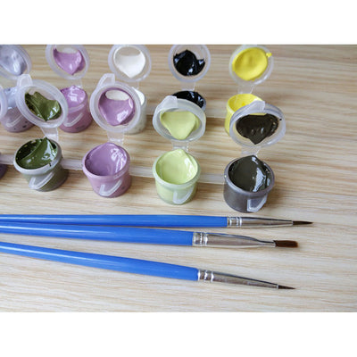 Europe Vintage DIY Paint-By-Number Drawing Kit
