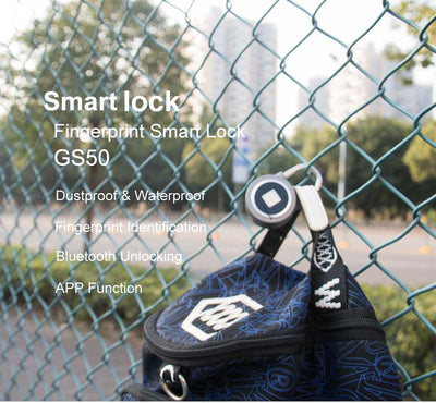 SmartLock™ Fingerprint Bluetooth Padlock