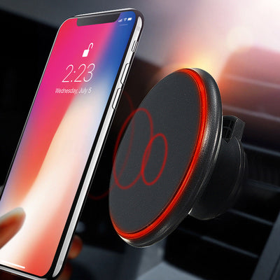 360 degree Magnetic Car Wireless Charger for iPhone X, iPhone 8 and Samsung S8