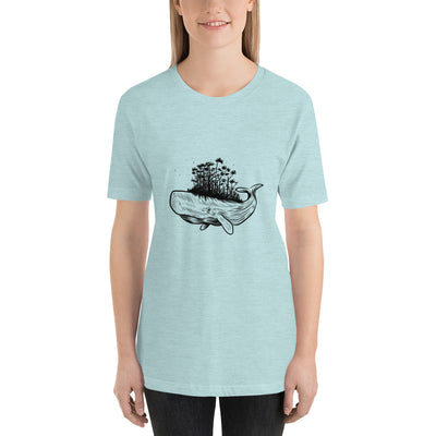 Forest on Whale - Short-Sleeve Women T-Shirt