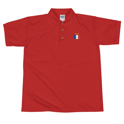 France Won - Embroidered Polo Shirt