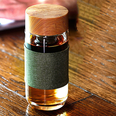 Portable Tea Infuser Bottle