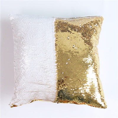 Mermaid Sequin Pillow Cover