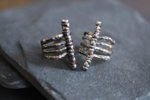 Extended Rib Cage Ring