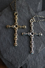 Sterling Silver Skull Cross Pendant