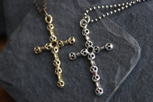 Yellow Brass Cross Pendant