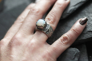 Sterling Silver Dany Ring with Opalite