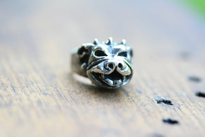 Sterling Silver Therapy Dog Ring