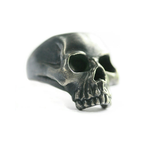 Classic Sterling Silver Skull Ring