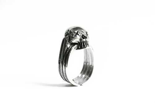 Sterling Silver Mini Skull Ring