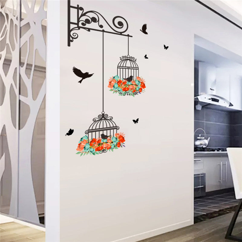 Flying Black Bird Wall Decal & Flying Black Bird Wall Decal u2013 Art Decor HQ