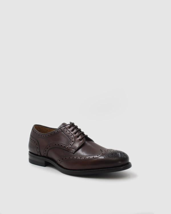 Praga - Goodyear Welted Leather Shoes - Cocoa