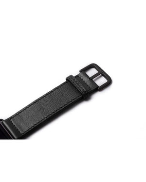HARBER LONDON · APPLE WATCH STRAP CLASSIC LEATHER · BLACK
