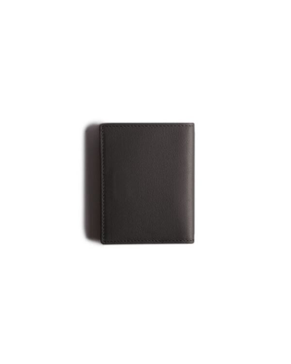HARBER LONDON · CARD WALLET WITH RFID PROTECTION · GREY