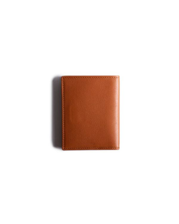 HARBER LONDON · CARD WALLET WITH RFID PROTECTION · TAN