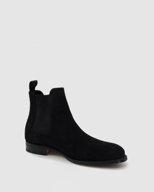 NYC - MTO Chelsea Suede Boots - Black