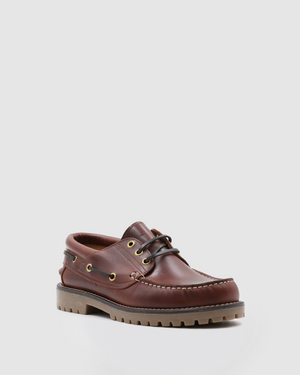 Corsica - Boat Shoes - Brown