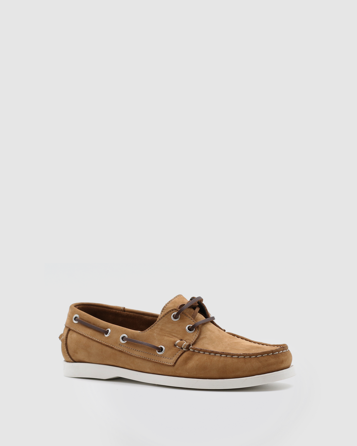 Menorca - Boat Shoes - Camel