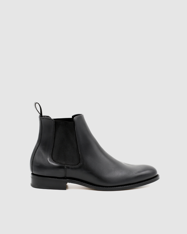 9ab529a11e489 NYC - Chelsea Leather Boots - Black - Åpoint