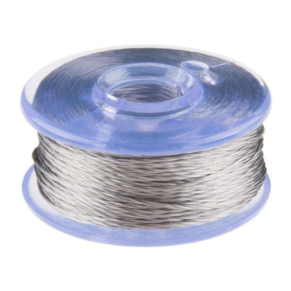 Conductive Thread Bobbin - 12m (Smooth Stainless Steel)