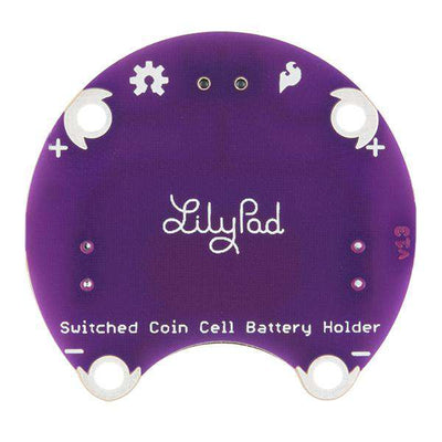 Switched Coin Cell Battery Holder - 20mm