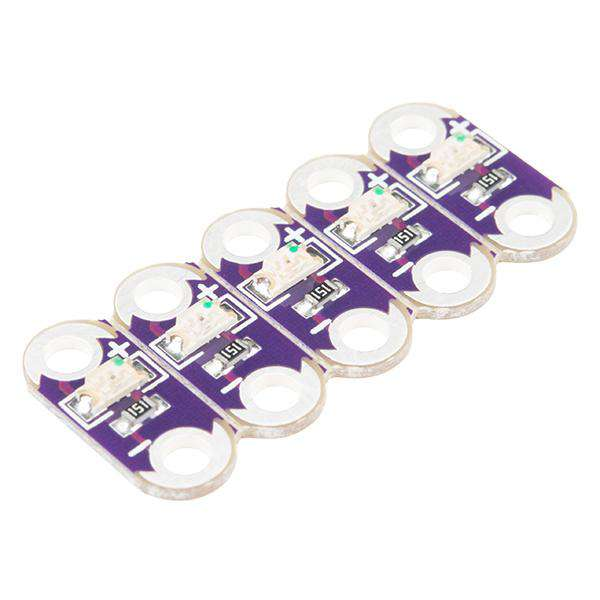 LilyPad - LED White 5 Pack