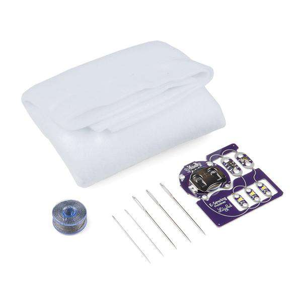 Lilypad - E-Sewing ProtoSnap Kit