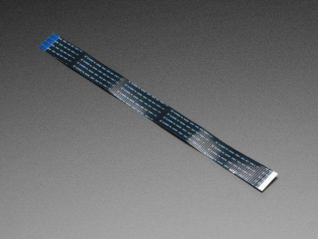 Flex Cable for Raspberry Pi Camera or Display - 200mm / 8""