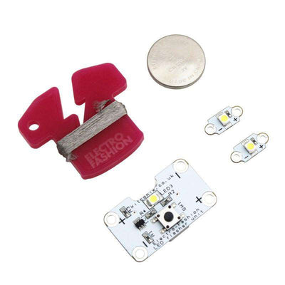 E-Textiles Flasher Controller Kit