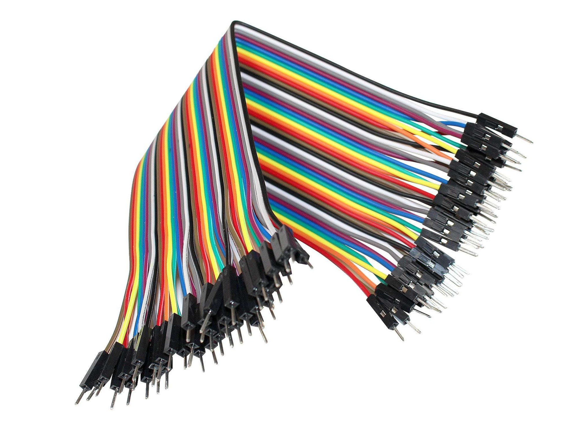 40 DuPont Male to Male Breadboard Jumper Wires