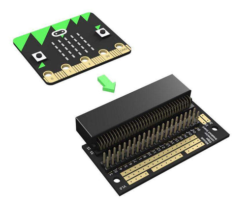 Edge Connector Breakout Board for BBC microbit