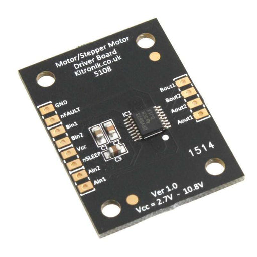 Dual Motor or Stepper Motor Driver Board